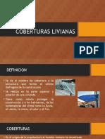 COBERTURAS LIVIANAS 90%