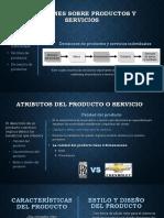 Decisiones Sobre Productos y Servicios