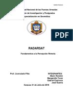 Trabajo de Radarsat