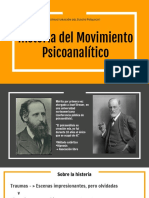 Historia Del Movimiento Psicoanalitico