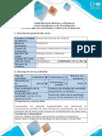 Guía de actividades y Rúbrica de evaluación - Tarea 1 - Elaborar video sobre reflexión epistemológica acerca del pensamiento científico.docx