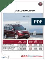 Fisa Fiat Doblo Panorama Februarie 2019