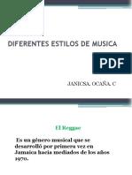 Diferentes Estilos de Musica
