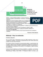 12. Pour La Recherche