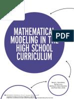 Modeling in math