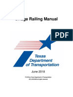 Texas Bridge Railing Manual