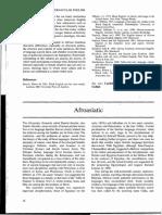 Afro-Asiatic Enc. of Linguistics