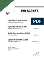 Voltcraft Vc 880 Dmm de en Fr Nl