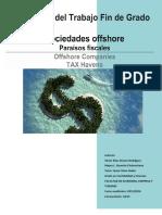 Sociedades Offshore Paraisos Fiscales
