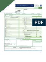 Plantilla Formulario 350 Declaracion de Retenciones en La Fuente
