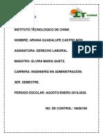Analisis de La Constitucion Del Ariculo 123.