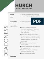 Deaconess Role Description