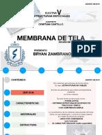 MEMBRANAS DE TELA