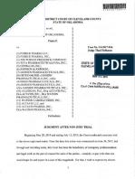 Oklahoma Opioid Verdict
