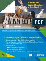 Minc programação cultural das olimpíadas