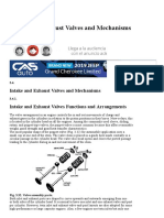 Intake and Exhaust Valves and Mechanisms (Automobile)