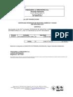 Certificados de Reteica 5 Bimestre 2017