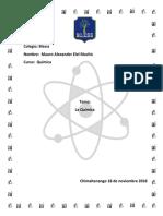 Química definiciones
