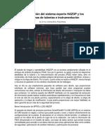 La integración del sistema experto HAZOP y P&ID