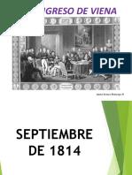Unidad 1 Congreso de Viena - Jaime Arturo Restrepo R