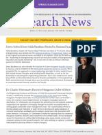 Research News - Summer 2019