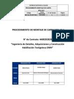 PIEM-20001-EL-PO-RVF-003 Procedimiento Montaje de Carpa Rev. 3