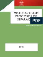 mistura e processo de separação - química ensino médio