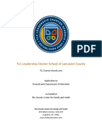 TLC Leadership Charter School Application