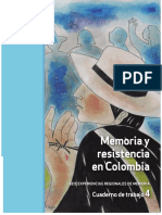 Memoria y Resistencia en Colombia