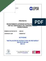 SIG-PETS-SE-304 Instalación de Estructura de Refuerzo