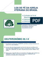 Símbolos e Fé Da IPM - STPRDNE - Apresentaçao 2017.