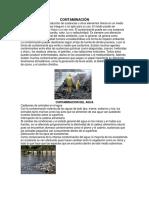 CONTAMINACIÓN Del Suelo, Aire, Reciclaje