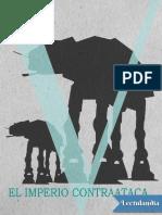 Libro 5 - Star Wars Episodio v El Imperio Contraataca - Donald F Glut