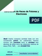 Calibracion Haces Fotones y Electrones