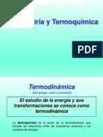 Calorimetria y Termoquimica
