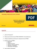Programa Pymexporta Dhl Express 2015 Keyword Principal