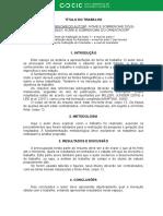 Modelo Resumo CIC 2019
