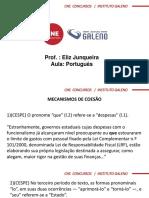 Questões Português - Cespe
