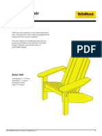 Adirondack Chair Hack