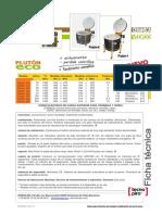 Ficha técnica de Horno Eléctrico