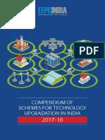 CompendiumofSchemesforTechnologyUpgradationinIndia2017-18-180618173651