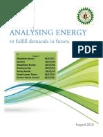 Energy Analysis on Data published by Enerdata