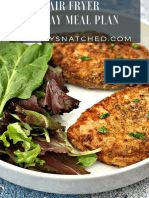 Air Fryer 14 Day Meal Plan
