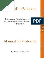 Kit Do Rotaract - Protocolo