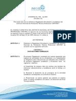 Acuerdo 005 de 2001