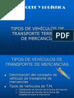 Tipos de Vehiculos de Transporte Terrestre