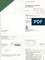 1991_Stenhouse Investigación y desarrollo del currículum
