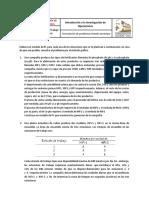 Acitividad 1 Para Clase, Formulación de Modelos Prototipo