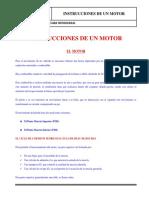Instrucciones de Un Motor