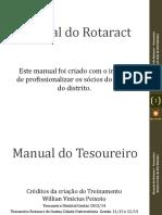Kit Do Rotaract - Tesouraria